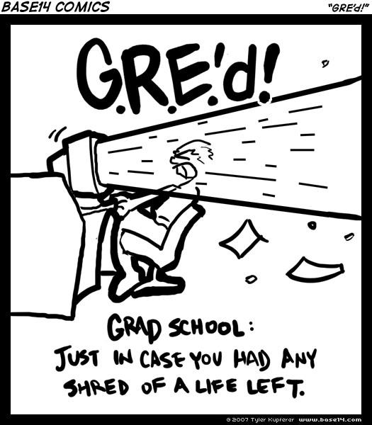 GRE'd!